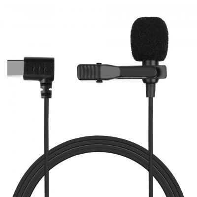 Mini Microphone USB C Type-C Condenser Audio Recording Mic For Huawei Xiaomi Samsung Android Phone