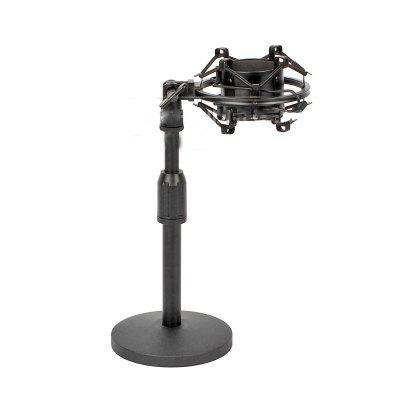 Desktop Suspension Microphone Stand Shock Mount Holder For Heil Sound PR 30 40 PR30 PR40