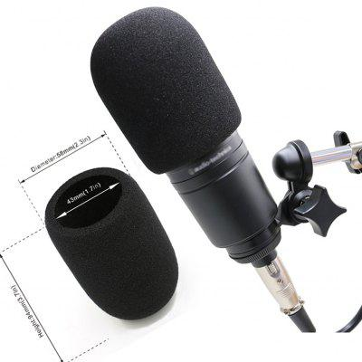 Windscreen Microphone Cover Windproof Foam for Audio Technica AT2020 ATR2500 AT2035 AT4040 Mic