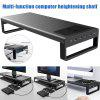 Aluminium Alloy Monitor Stand Computer Base Table With 4 Usb3.0 Laptop Desk