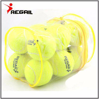 Elasticity Tennis Ball Training Sport Rubber Woolen Tennis Balls for tennis practice with free Bag