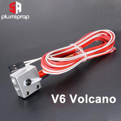 V6Volcano J-head Hotend Heating Aluminum Block and Thermistor with 2 pin and Ceramic Heater