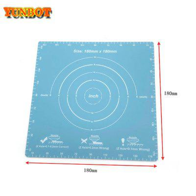 3D Printer Magnetic Print Bed Tape Square Coordinate Printed Sticker Build Plate Tape