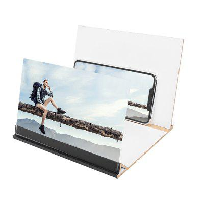 12 inch Mobile Phone 3D Screen Video Magnifier 8 9 inch Folding Curved Enlarged Smartphone Movie Amplifying Projector Stand Bracket