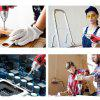 45pcs Electric Screw Driver 3.7V USB chargeable Cordless Mini Drill  Power Tools