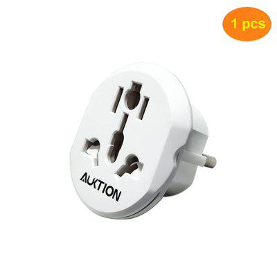 Universal European Adapter 16A 250V AC Travel Charger Wall Power Plug Socket Converter Adapter for Home Office
