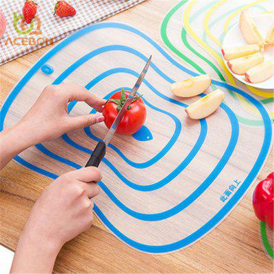 4pc set Plastic Cutting Board Non-slip Frosted Kitchen Cutting Board Vegetable Meat Tools Kitchen Accessories Chopping Board