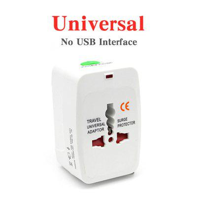 Universal Worldwide Adapter Electric Socket AU UK US EU Plug Adaptor Travel Wall Charger AC Power Option 2 USB Charging Port