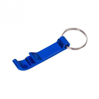 Colorful 4 in 1 Bottle Opener Key Chain Chain Portable Metal Beer Bar Open Bottle Tool Summer Beverage Beer Accessories