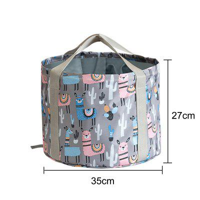 Foldable Foot Tub Portable Bath Bag Wash Basin Water Bucket Large Capacity Bathing Feet Massage Washing Tub For Outdoor Travel