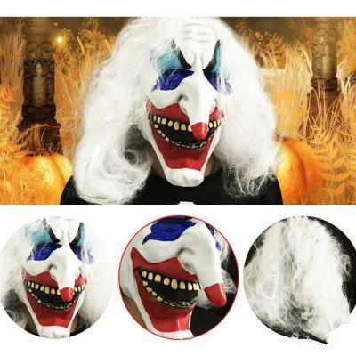 Quality Silicone Long Nose Clown Spoof Masks Party Horror Mask Carnival Masquerade Cosplay Clown Halloween Party Decoration Prop