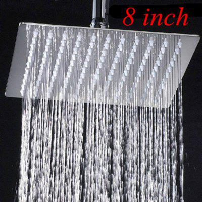 Multiple Sizes Options Retail Polished Chrome Finish Bathroom Square Rain Shower Head Ceiling  Wall Top Sprayer