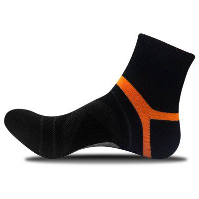 2020 Men Compression Socks Men Merino Wool Black Ankle Cotton Socks Herren Socken Basketball Sports Compression Sock for Man