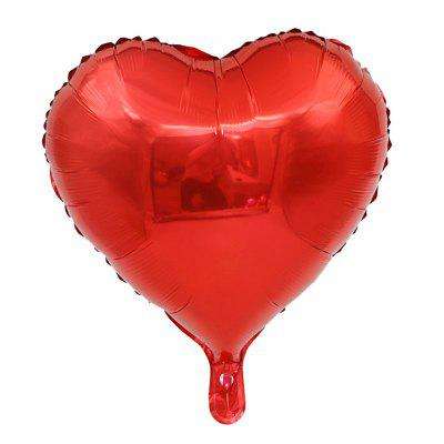 1pc 18inch Star Heart Inflatable Helium Balloon Birthday Party Decorations Kids Foil Balloons Wedding Christmas Supplies Gifts