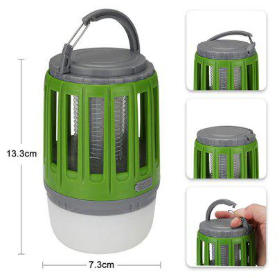 LED Tent Lamp 2-in-1 Bug Zapper Lamp USB Rechargeable Camping Lantern Portable Waterproof Electric Mosquito Killer LED Lantern