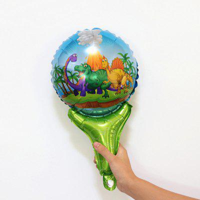 Dinosaur Foil Balloon Birthday Party Decoration Kids Toy Inflate Helium Ballon Animal Zoo Theme Decorate Ball