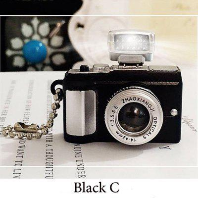 Funny Keychain Toys Camera with LED Flash Sound Flashing Toys for Children Adult Tiny Digital Camera Toy Friends Birthday Gift