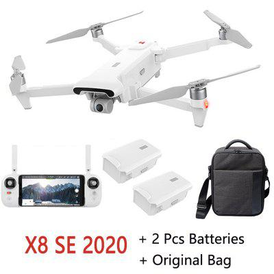 In Stock FIMI X8 SE 2020 Camera Drone RC Helicopter 8KM FPV x8se 3-axis Gimbal 4K HDR Video GPS RTF 1 Battery