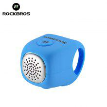 ROCKBROS Electric Cycling Bell 110 dB Horn Rainproof MTB Bicycle Handlebar Silica Gel Shell Ring Bike Bell Bicycle Accessories