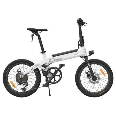 Original HIMO C20 10AH Electric Moped Bicycle 25KM Per Hour 250W Motor Foldable from Xiaomi Youpin Image