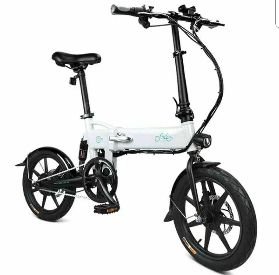 FIIDO D2 Smart Folding Moped Elektriese Fiets Fiets Dubbel Skyf Remme Awesome