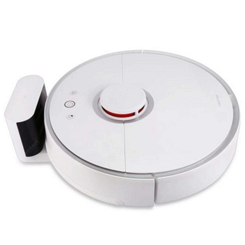 Xiaomi S50 Smart Robot Roborock Vacuum Cleaner Second-Generation Cleaning Device 6th June Available - White EU Germany