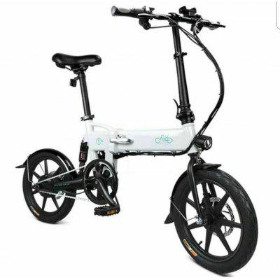 FIIDO D2 Smart Folding Moped Electric Bike Bicycle Double Disc Brakes Awesome Image
