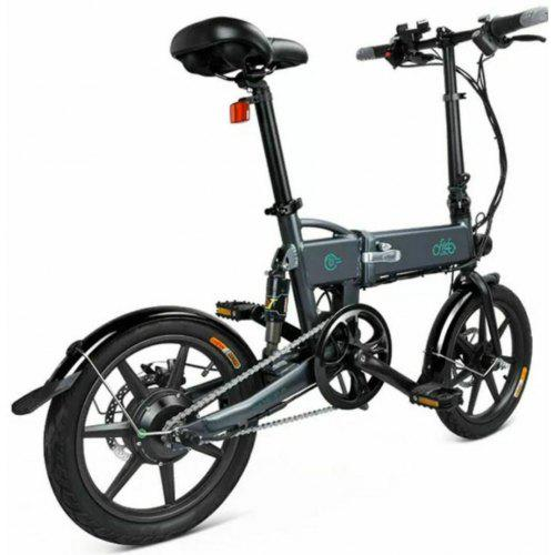 Gearbest FIIDO D2 Smart Folding Moped Electric Bike Bicycle Double Disc Brakes Awesome - Light Grey Poland