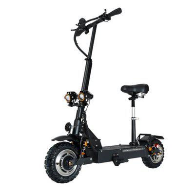 Janobike Electric Scooter Double Drive with seat 3200W 90KM Distance Folding Max 85KM Per Hour