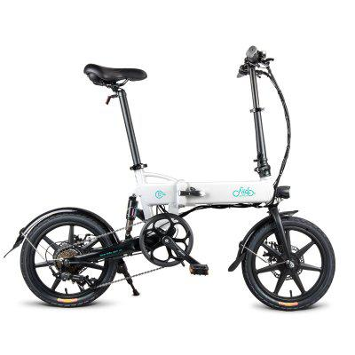 FIIDO D2 Shifting Version Variable speed Folding Moped Electric Bike 7.8Ah 16in Wheel From Poland Image
