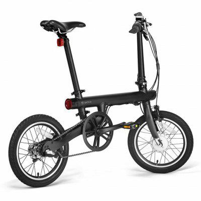 Xiaomi Mi QiCYCLE TDR01Z Bike Bicycle Max 25km Per Hour 16in Wheel Max 30km mileage Image