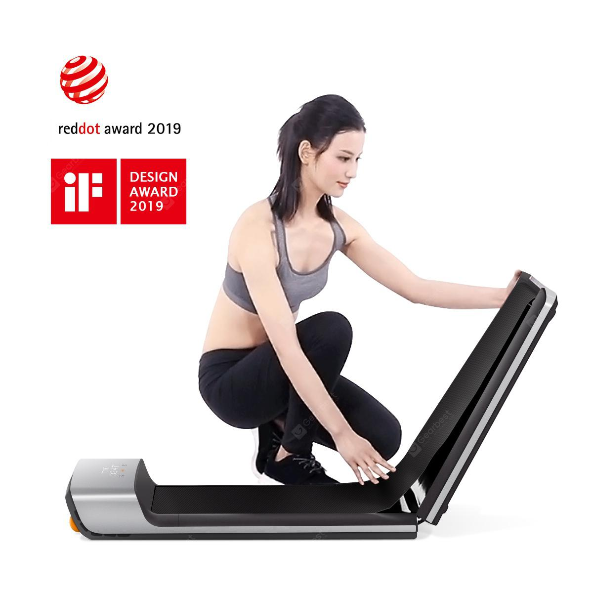 WalkingPad A1 Foldable Fitness Walking Machine Remote Control Easy To Store from Xiaomi youpin - Gray Poland