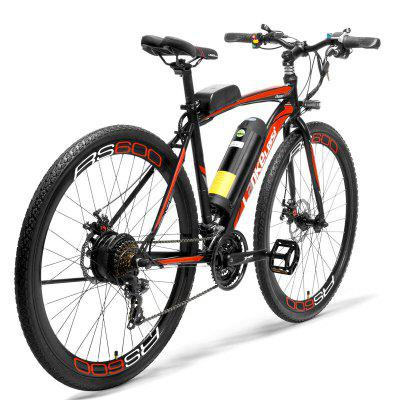 LANKELEISI RS600 700C Pedal Assist Electric Bike 36V15Ah Battery 300W  Road Bicycle Image