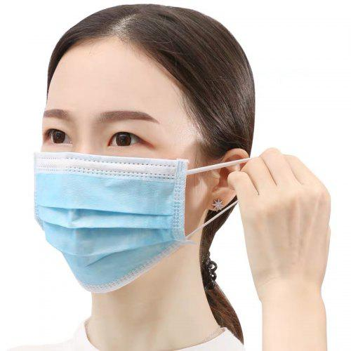 Surgical Face Mask Disposable Flu Virus Dental Hygiene Mask Protect Mouth 3 Ply