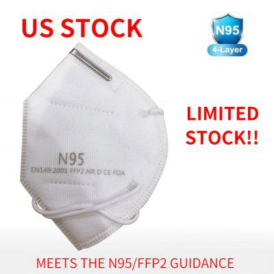 10Pcs N95 Mask Anti Virus Box Package Protective Mask Meets The N95 FFP2 Guidance