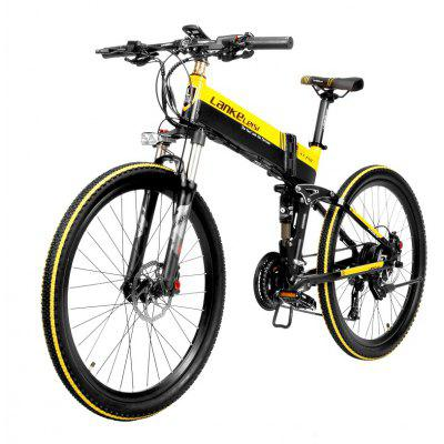 LANKELEISI XT750 Electric Bike Bicycle 48V 10.4AH 400W 26in Tire 90KM Mileage Image