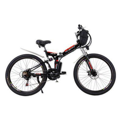 PLENTY  Electric Bicycle Folding Bike 15A 48V 110KM Mileage 350W 26in Wheel Double Disc Brake