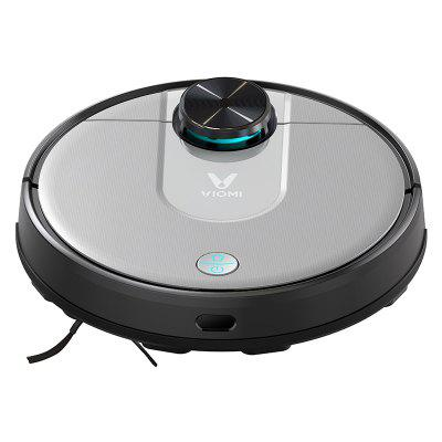 Xiaomi VIOMI V2 Pro Robot Vacuum Cleaner 2 in 1 Sweeping Mopping 2100Pa LDS Laser Navigation Intelligent Electric Control Tank EU Version Image