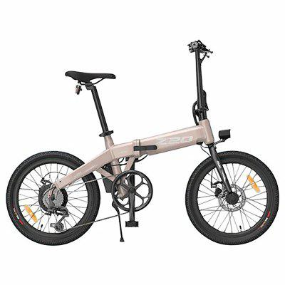 HIMO Z20 Folding Electric Bicycle 36V 10AH 20 Inch Tire 250W Motor 80KM Mileage Range Dual Disc Brake Image