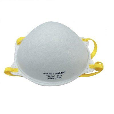 Makrite 20Pcs NIOSH N95 Mask Particulate Respirator N95 Mask Non-Medical