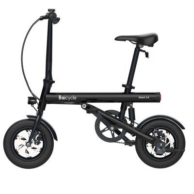 BAICYCLE Smart 2.0 Electric Moped Bicycle 7.8Ah Battery 50KM 25km/h Mileage Double Disc Brake 12 inch Wheel