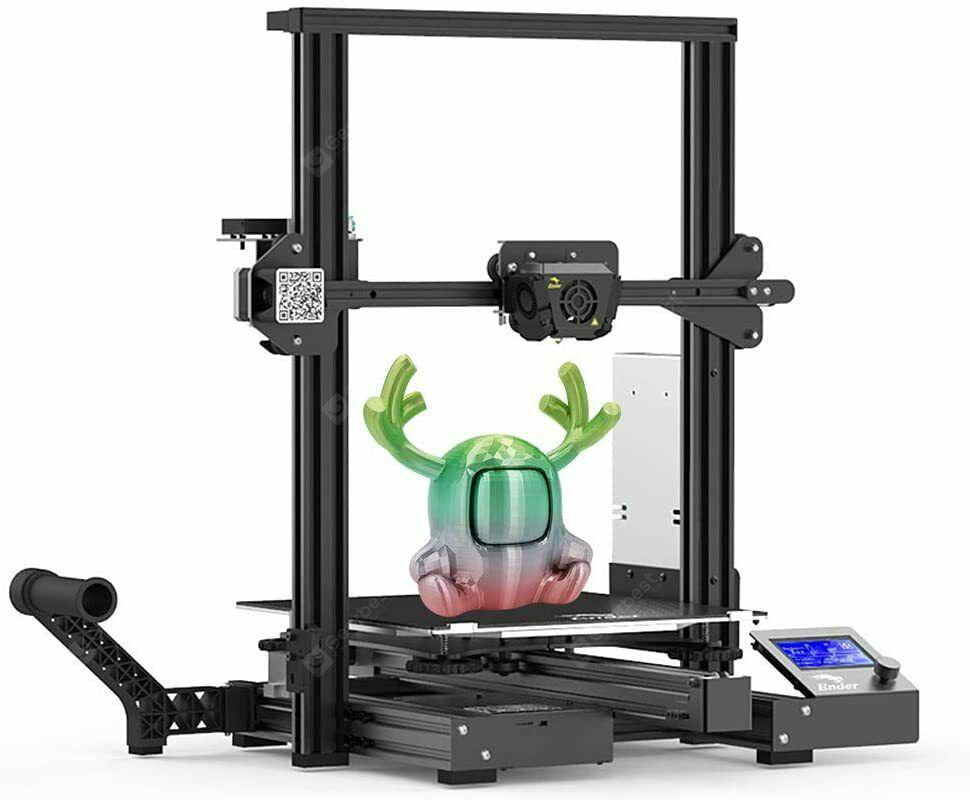 Creality Ender 3 Max 3D Printer FDM with Silent Mainboard Meanwell Power Supply 300x300x340mm