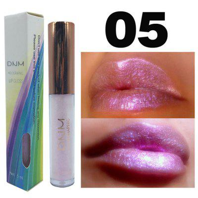 DNM polarized lip gloss colorful pearlescent shiny lipstick lip glaze long-lasting lip makeup