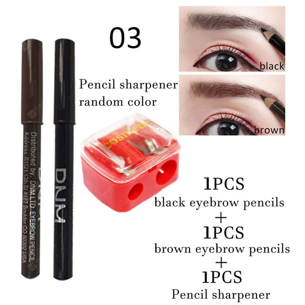 Rand Dnm Wood Eyebrow Pencil Easy To Color Can Be Cut Wooden Pen