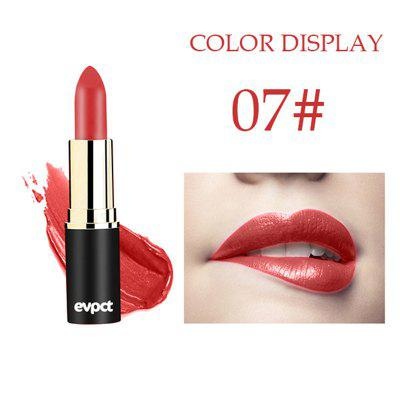 Evpct 12 color sexy long lasting matte waterproof lipstick waterproof moisturizing does not fade