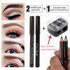 rand DNM wood eyebrow pencil easy to color can be cut wooden pen eye makeup eyebrow makeup cosmetics