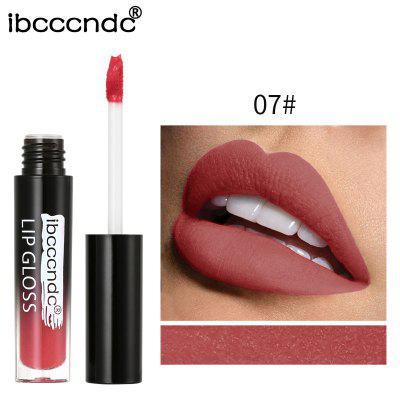 IBCCCNDC 12 Color Sexy Long Lasting Semi Matte Waterproof Liquid Lip Gloss