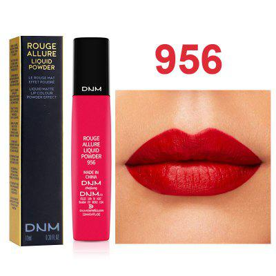 DNM 6 color velvet lip glaze matte lip gloss lasting waterproof moisturizing cushion lip balm