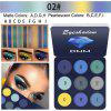 Brand DNM 9 color diamond metal eyeshadow matte pearlescent lasting eye makeup