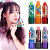 6 rainbow color moisturizing cream lipstick cola wax cup lip gloss set baby lip balm brand makeup